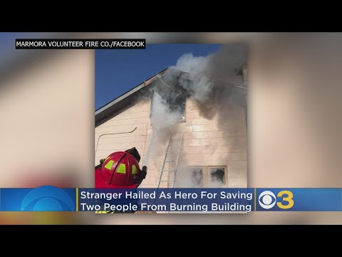 Stranger Hailed As Hero After Saving 2 People From Burning Building In New Jersey – Local News Alerts
