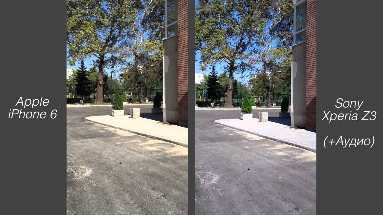iPhone 6 vs. Sony Xperia Z3 camera test