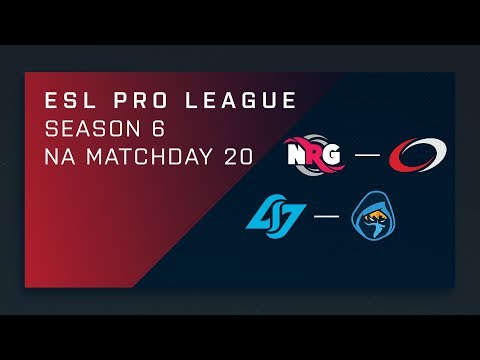 CS:GO: NRG vs. compLexity | CLG vs. Rogue - Day 20 - ESL Pro League Season 6 - NA 2nd Stream