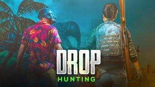 PUBG MOB LE L VE  DROP HUNT RUSH GAMEPLAY W TH BACK TO BACK CH CKEN D NNERS