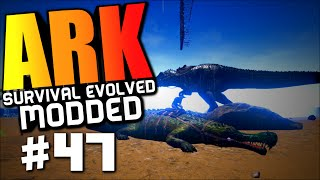 "Ark Modded #47 ""lvl 200 SARCO TAMING, LOST MY STUFF"" Ark Survival Evolved"