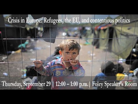 Crisis in Europe: Refugees, the EU, and contentious politics