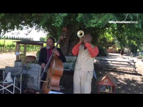 Barn Yard Boogie at  #Knightsen @FirstGenerationFarmers by  Dewayne Oakley and Christopher Lowell Cl
