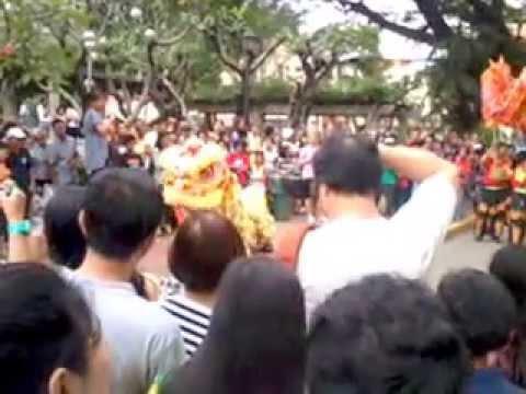 Dragon Dance in Intramuros, Manila, NCR, Philippines