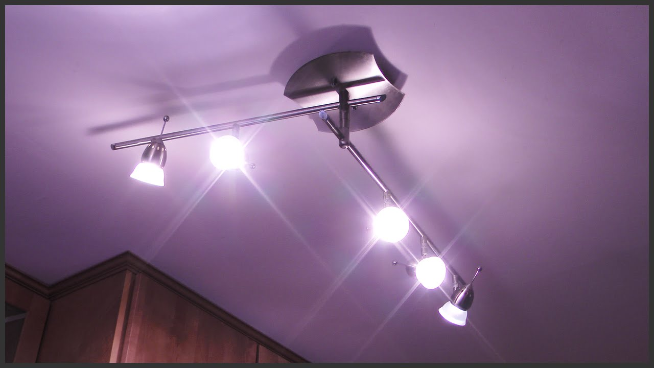 trouble with track lighting bulbs