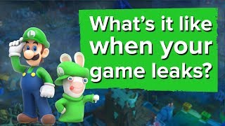 What's it like when your video game leaks? We ask the Mario Rabbids team.
