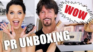 FREE STUFF BEAUTY GURUS GET | Unboxing PR Packages ... Episode 11