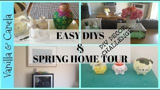 2018 DIY & DECOR CHALLENGE PLUS HOUSE DECOR UPDATE