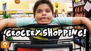 Grocery Shopping with HobbyFamily!