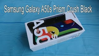 samsung galaxy a50s prism crush black color unboxing and camera testing