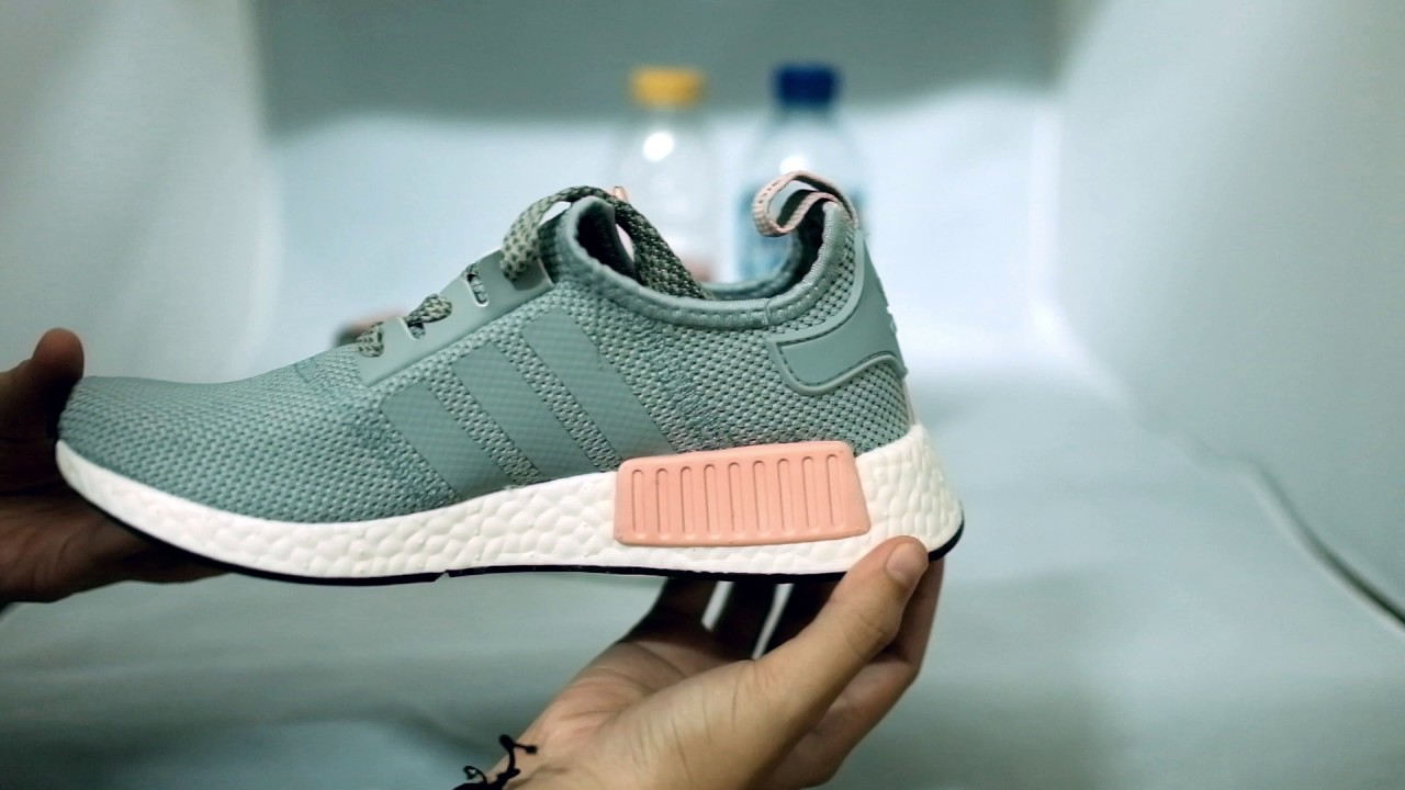 e5243fe2471f Adidas Nmd R1 Vapour Pink Pack Grey Pink - YouTube