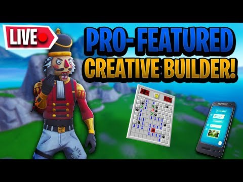 fortnite pro featured creative builder - find the button fortnite code dolphindom