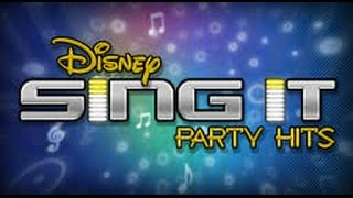 Disney Sing it  Party Hits (list of Songs) Tracklist [full] English