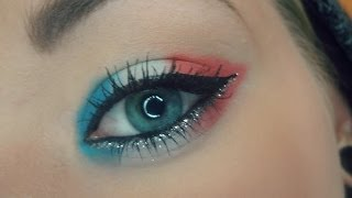 French Flag Makeup Tutorial :P Thumbnail