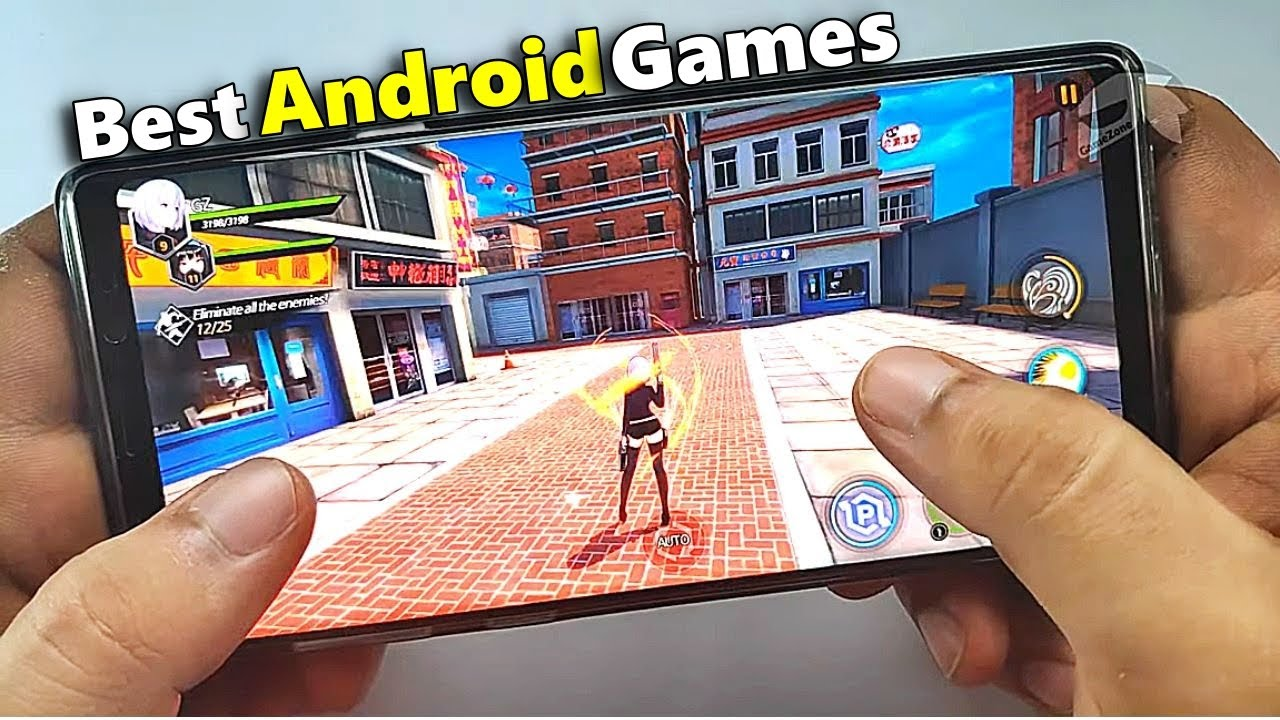 TOP 10 NEW Android Games HD [Offline/Online] - YouTube