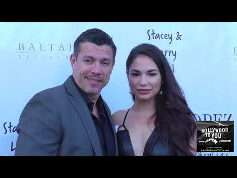 Al Coronel and Christina Leucas at the George Lopez Foundation 10th Anniversary Celebration Party at