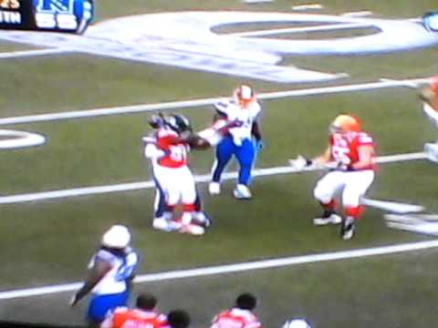 2011 pro bowl final afc play (fat guy touchdown)