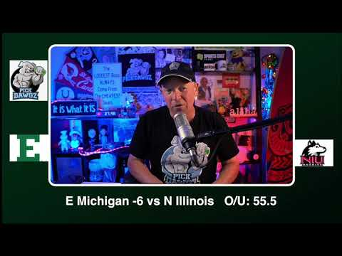 Northern Illinois vs Eastern Michigan 12/12/20 Free College Football Picks and Predictions CFB Tips