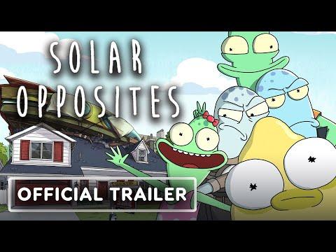Solar Opposites - Official Teaser Trailer (2020) Justin Roiland, Thomas Middleditch