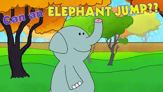 Zoo Animals Song for Kids - Can an Elephant Jump? - by ELF Learning