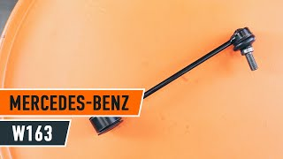MERCEDES-BENZ M-CLASS (W163) Gumiharang Készlet Kormányzás cseréje - videó útmutatók