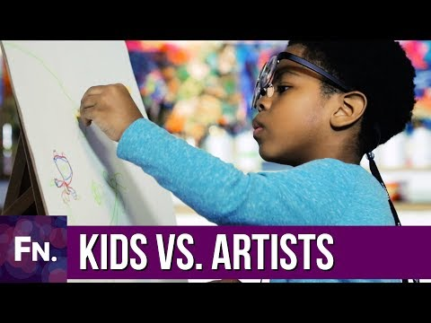 How Do Kids and Artists See While Drawing? | Eye Tracking