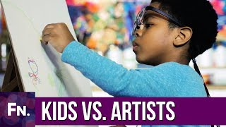 How Do Kids and Artists See While Drawing  Eye Tracking