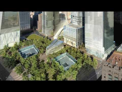 NJIT Alum shows plans for WTC site