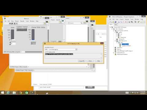 LabVIEW Web Services - Web App Demo And How-to