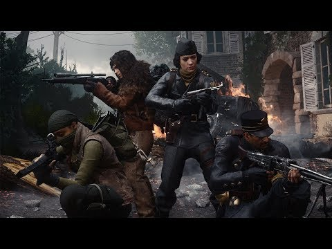"""Official Call of Duty®: WWII - United Front DLC 3 - """"The Tortured Path"""" Nazi Zombies Trailer"""