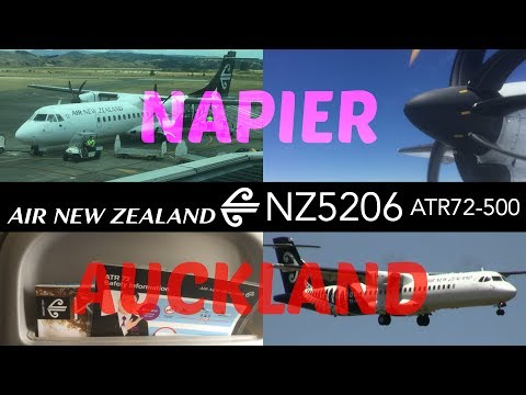 Air New Zealand NZ5206 : Flying from Napier to Auckland
