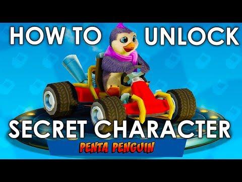 Crash Team Racing Nitro-Fueled - Cheat Code To Unlock Peta Penguin