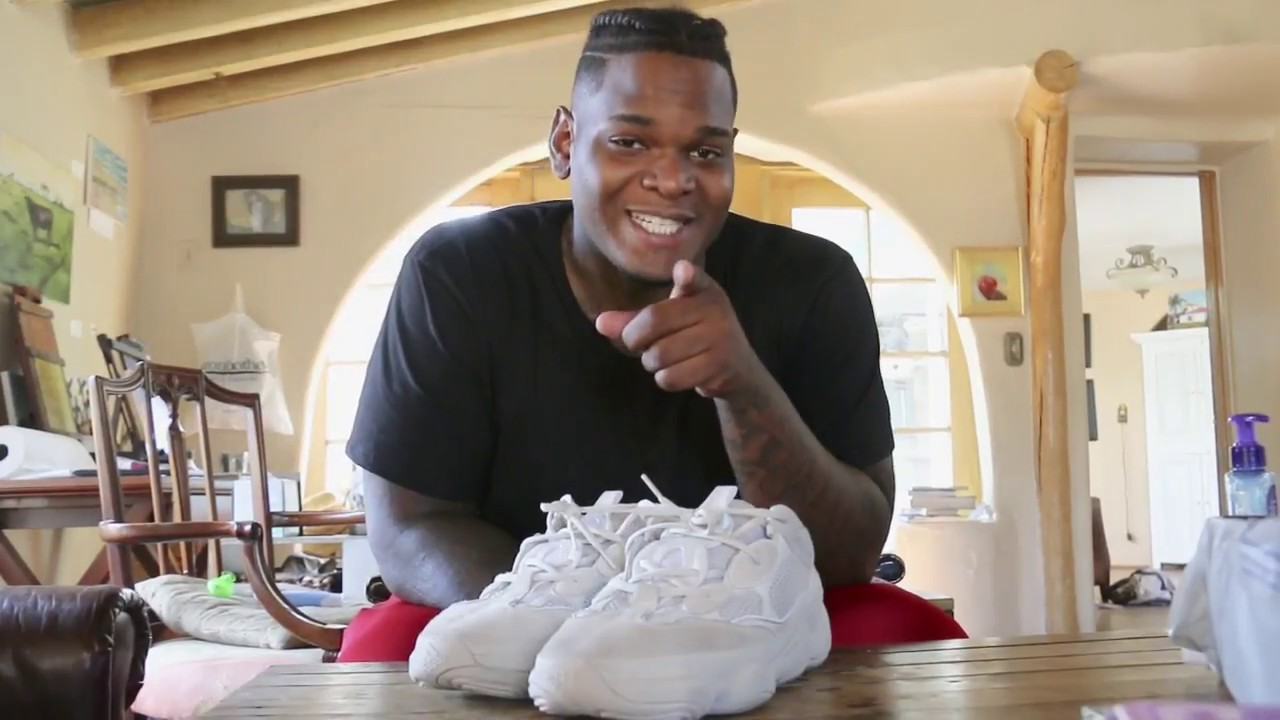 6aed4b20 How To Clean Yeezy 500's - YouTube
