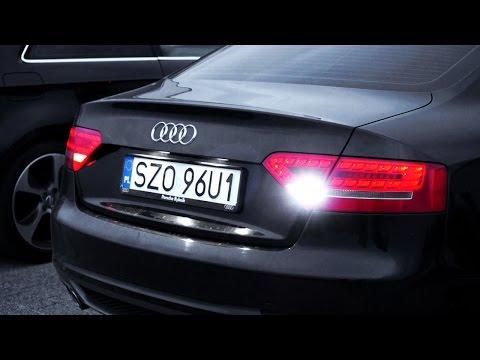 Audi A5 B8 LED reverse lights W16W tuning