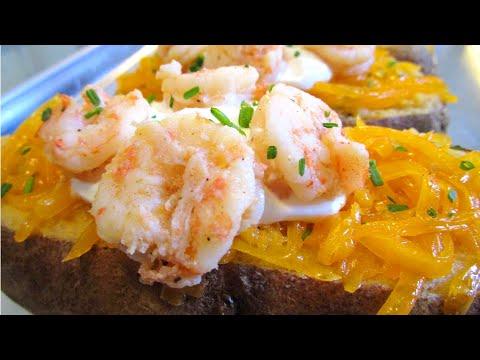 How To Make Twice Baked Seafood Potatoes