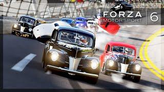 Forza 6 - OG NASCAR! (Flips, Glitches, and BIG Wrecks)