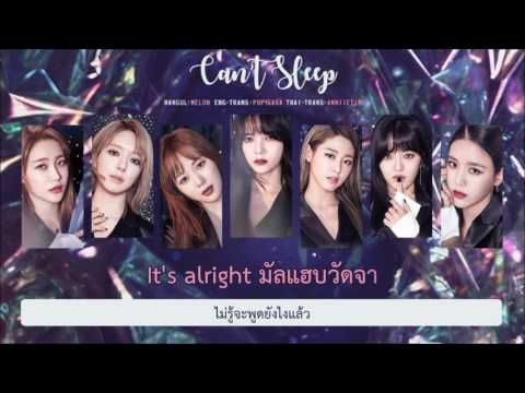 [Thai Sub] AOA - 불면증 (Can't Sleep)