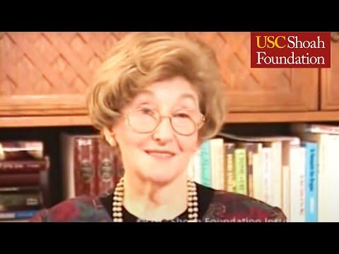 Holocaust Survivor Ruth Brand Testimony