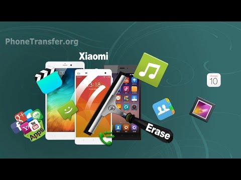 How to Erase/Delete All Data from XiaoMi Mi 5, Mi 4, Mi Note,Mi 3 Phone Permanently