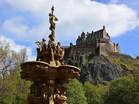 One of the Most Beautiful Cities in UK, Edinburgh, Scotland