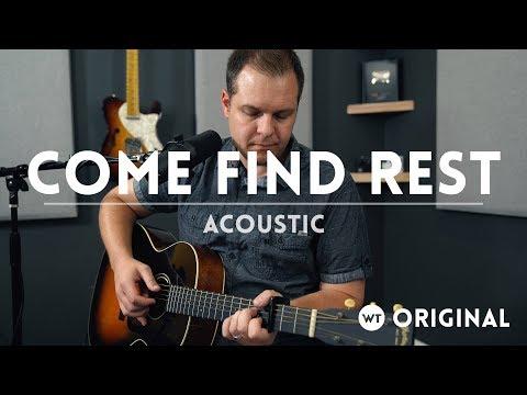 Come Find Rest Matt 11:28 acoustic  original sg  Brian Wahl