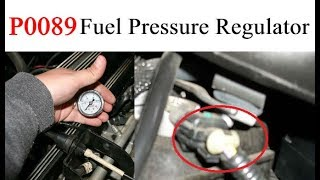P0089 VOLVO  Fuel Pressure Regulator 1 Performance