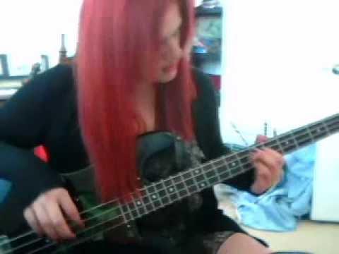 YOu make me feel like a whore. bass cover Everclear