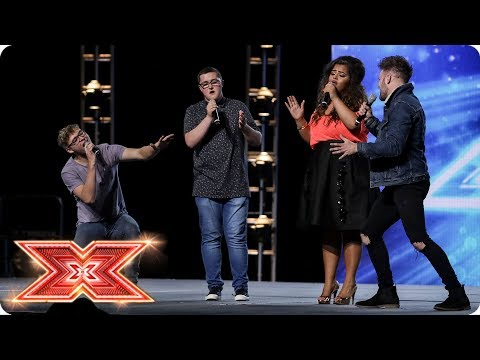 Will Harry, Daniel, Scarlett and Jack make History?   Boot Camp   The X Factor 2017