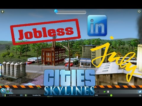 Jobless in July | Cities: Skyline | Episode 1 (Season 2)