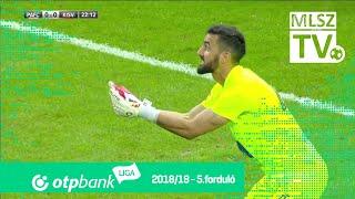 Puskás Akadémia FC - Kisvárda Master Good | 1-1 (0-0) | OTP Bank Liga | 5. forduló | 2018/2019