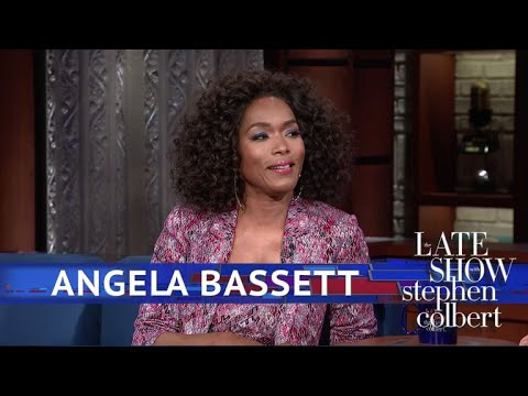 Angela Bassett Describes The Waterfall Scenes In 'Black Panther'