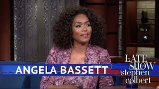 Angela Bassett Describes The Waterfall Scenes In 'Black Panther' thumbnail