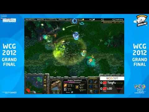WCG 2012 WC3 Dota: Final LGD vs TongFu Game 1 Part 1