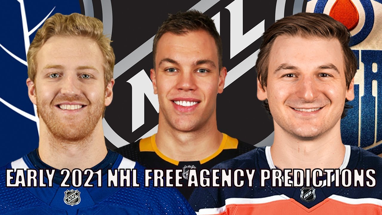 EARLY NHL Free Agency Predictions 2021 | Top 30 UFA Landing Spots